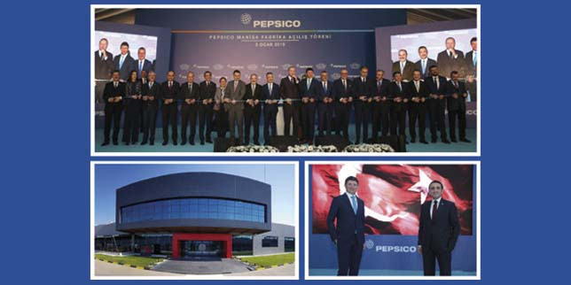 PepsiCo launched its sixth production site in Turkey