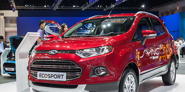 Ford moves EcoSport production to Romania