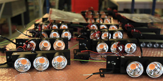 Electrical lighting equipment production in Turkey