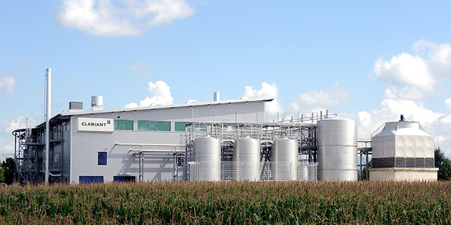 Clariant to open a new sunliquid cellulosic ethanol plant in Romania