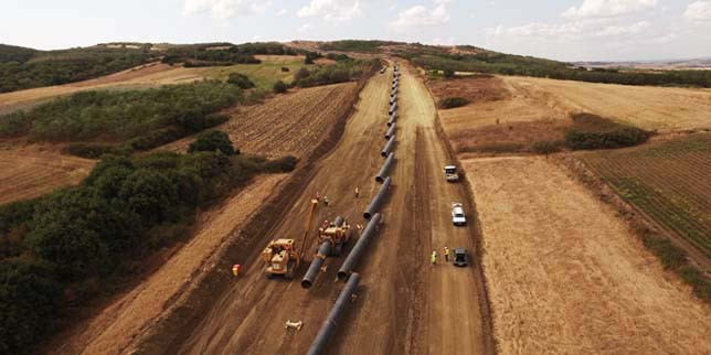 Trans Adriatic Pipeline gas project receives up to EUR 500 million financing