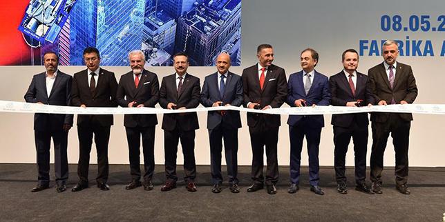 Thyssenkrupp opens escalator factory in Turkey