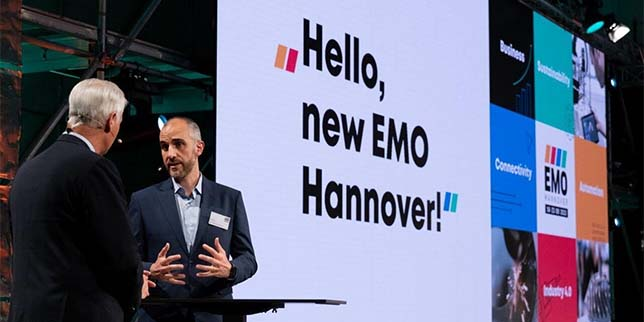 New exhibition concept for EMO Hannover 2023