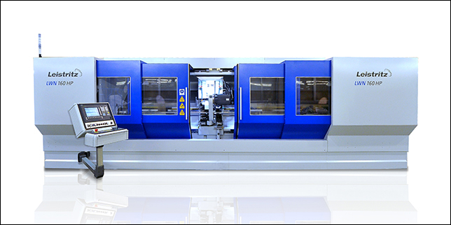 Leistritz with a world premiering whirling machine at EMO Hannover
