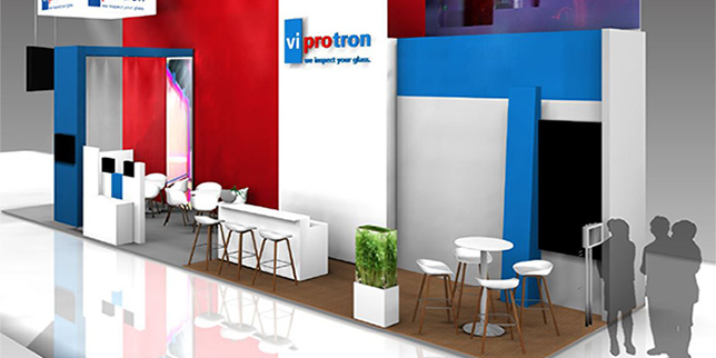 Viprotron presented new devices at this year`s glasstec exhibition