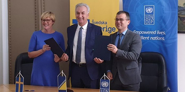 Sweden supports an UNDP energy management project in Bosnia and Herzegovina