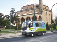 Greece is testing a driverless bus in real traffic conditions