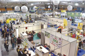 More than 185 exhibitors presented their newest solutions at Tehnoma 2015 in Skopje