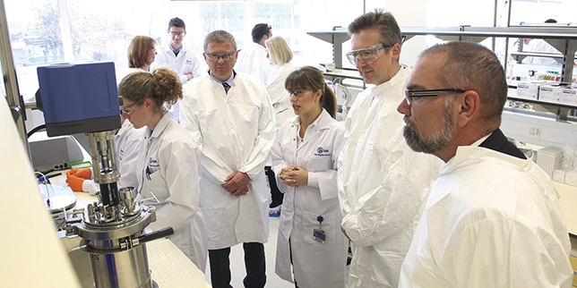Slovenian Lek expands its pharmaceutical labs in Menges