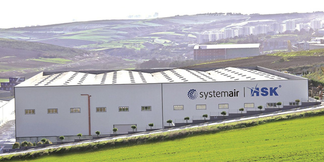 Systemair-HSK builds a greenfield site for air ventilation products in Turkey