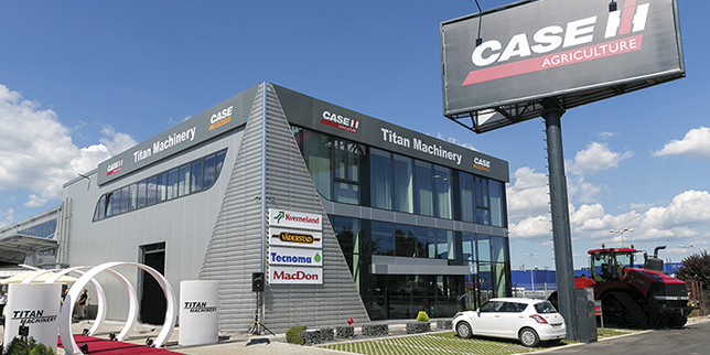The Bulgarian branch of Titan Machinery opened a new sales-service center