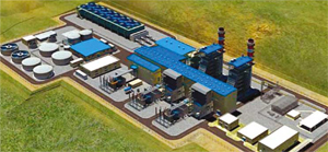 1 billion USD combined-cycle gas turbine power plant will be built in Turkey