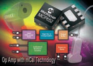 Microchip Unveils Industry`s First Operational Amplifiers With On-Chip One-Shot Calibration Circuit