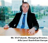 Interview with Mr. Vit Pekarek, Managing Director, Alfa Laval South-East Europe