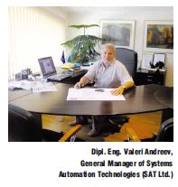 Interview with Dipl. Ing. Valery Andreev, general menager of Systems Automation Technology (SAT)