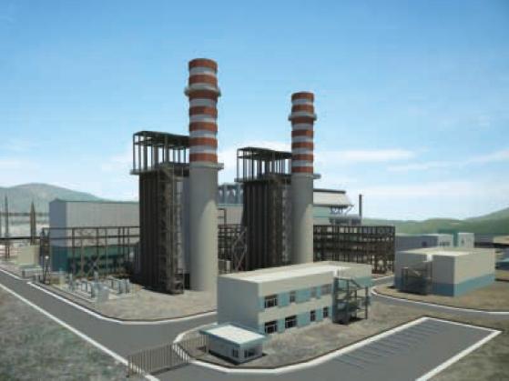 800 MW Combined-cycle gas power plant in Denizli, Turkey
