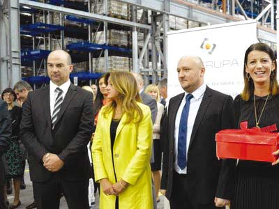 DIV Group opens new factory in Knin to employ 400 people
