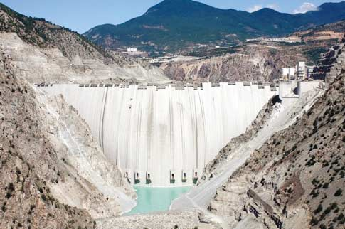 Bosch Rexroth has supplied hydraulics to the Deriner Dam in Turkey - one of the largest dams in Europe