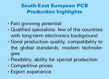 PCBs production in South-Eastern Europe