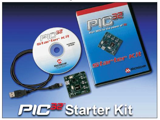 WIN A Microchip PIC32 Starter Kit!!