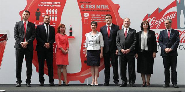 Coca-Cola expands its Bulgarian operations