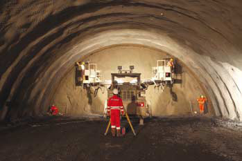Bulgarian success of the tunneling company Adval in Serbia