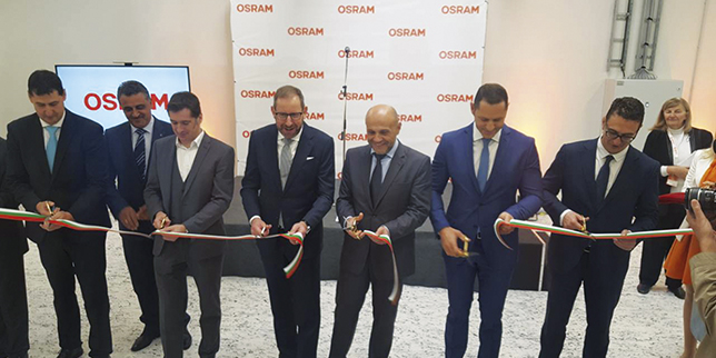 Osram opened its first factory in Bulgaria