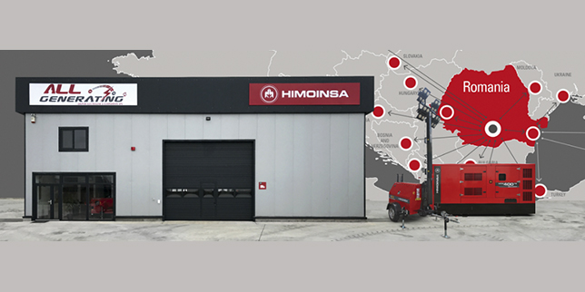 Himoinsa and All Generating open a new logistics warehouse in Bucharest